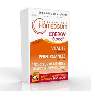HOMEOGUM : Le 1er complément alimentaire efficace alliant Homéopathie et Phytothérapie PERFORMANCES & OXYGÉNATION : La régénération de votre métabolisme sanguin