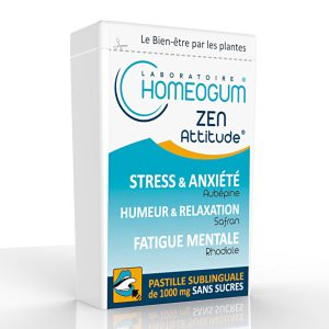 Homeogum-Zen attitude antistress