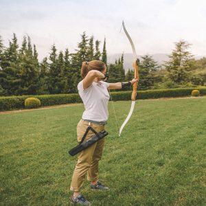 témoignage d'une championne de tir à l'arc